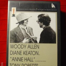 Cine: VHS ANNIE HALL CON WOODY ALLEN Y DIANE KEATON. 1977. Lote 57188385
