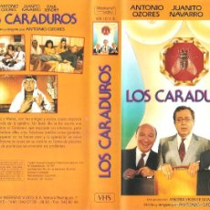 Cine: LOS CARADUROS (1983) - ANTONIO OZORES JUANITO NAVARRO RAÚL SENDER. Lote 57198209