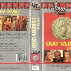 Cine: QUO VADIS (FRANCO ROSSI, 1985) - 1ª Y 2ª PARTE - ESCASA EDICIÓN VIDEOCOLECCIÓN 1988. Lote 57593441