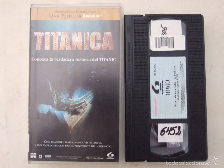 TITANICA - STEPHEN LOW - DOCUMENTAL - LAUREN 1996 (Cine - Películas - VHS)