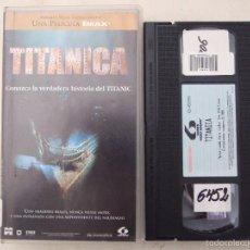Cine: TITANICA - STEPHEN LOW - DOCUMENTAL - LAUREN 1996. Lote 57602377