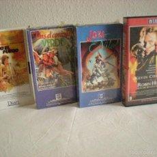 Cine: VHS PACK - 4 # AVENTURAS. Lote 57618602