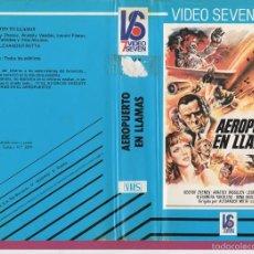 Cine: VHS- AEROPUERTO EN LLAMAS - ALEXANDER MITTA. Lote 57789936