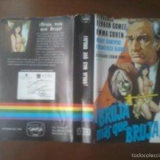 Cine: BRUJA MAS QUE BRUJA. DIRIGIDA POR FERNANDO FERNAN GOMEZ. VHS.. Lote 57800433