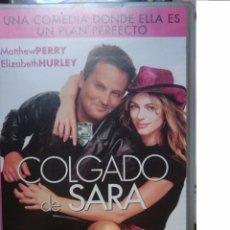 Cine: ELIZABETH HURLEY, MATTHEW PERRY - COLGADO DE SARA - VHS. Lote 57810560