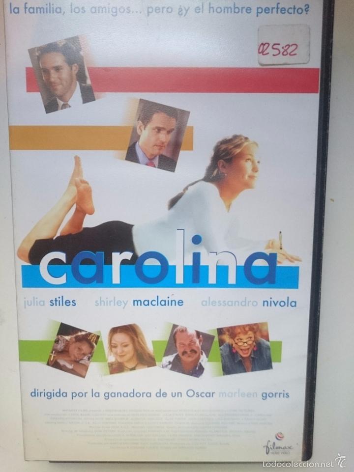 VHS PELI CAROLINA - JULIA STILES - SHIRLEY MACLAINE - ALLESANDRO NIVOLA --REFM1ARR (Cine - Películas - VHS)