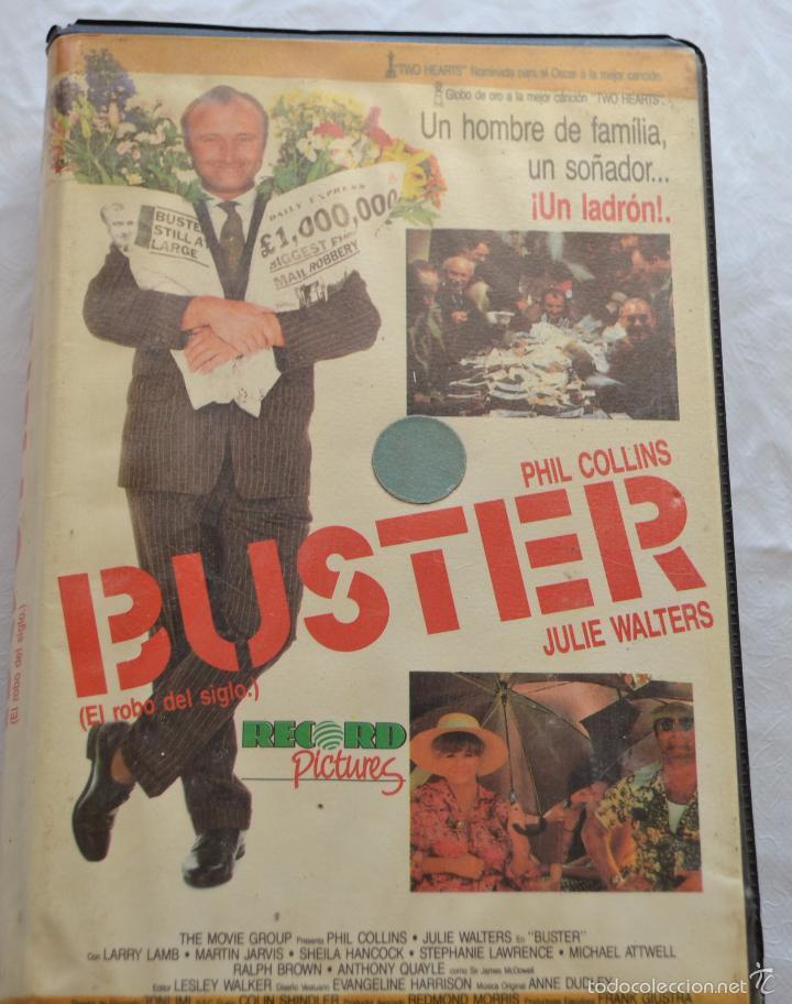 BUSTER -EL ROBO DEL SIGLO (Cine - Películas - VHS)