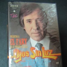 Cine: VHS VIDEO OJOS SIN LUZ EL FARY, AGUSTIN GONZALEZ NO EDITADA EN DVD. DIFICIL. FUNDA GRANDE.. Lote 57863781