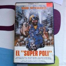 Cine: VHS - EL SUPER POLI (BUD SPENCER) / ANDROMEDA FILMS / CARÁTULA . Lote 57905305