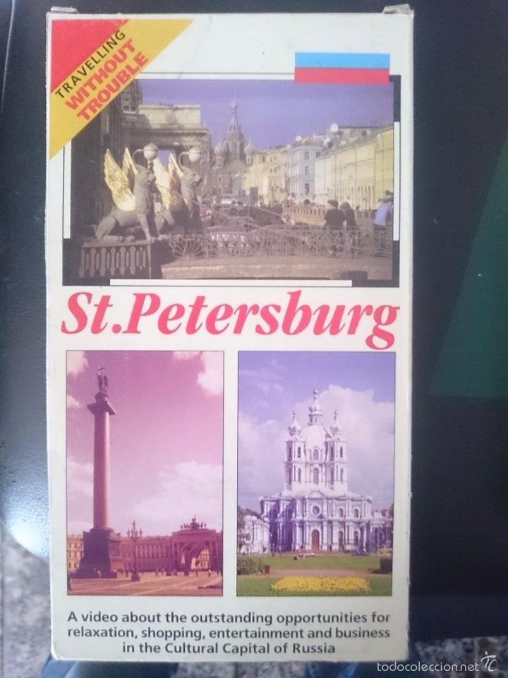 VHS DOCUMENTAL TURISMO SAINT PETERSBURG RUSIA - EN INGLES COMPRADO EN SAN PETERSBURGO RUSIA -REFM1E (Cine - Películas - VHS)