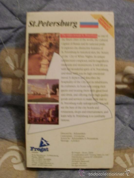 Cine: VHS Documental turismo SAINT PETERSBURG RUSIA - EN INGLES COMPRADO EN SAN PETERSBURGO RUSIA -RefM1E - Foto 2 - 58065014