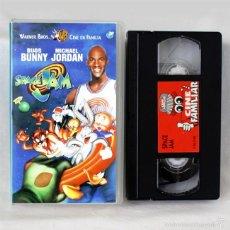 Cine: SPACE JAM - BUGS BUNNY, MICHAEL JORDAN - 1997 - VHS ORIGINAL - ESPAÑOL - COLECCIÓN. Lote 58082022