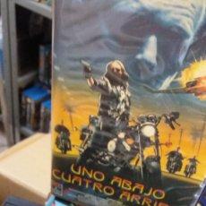 Cine: UNO ABAJO CUATRO ARRIBA- SUNSET BEAT - GEORGE CLOONEY- VHS. Lote 58097187