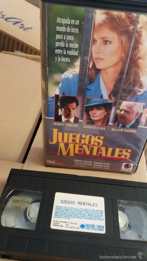 Juegos Mentales Vhs Dir Willian A Levy Comprar Peliculas De