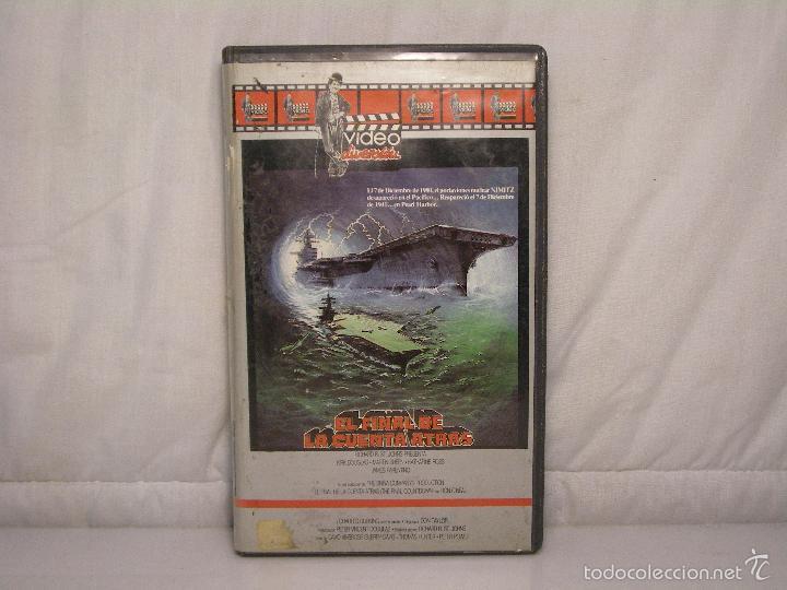 EL FINAL DE LA CUENTA ATRÁS *** KIRK DOUGLAS - MARTIN SHEEN *** CIENCIA FICCION (Cine - Películas - VHS)