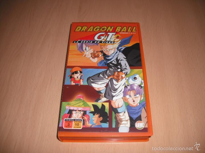 DRAGON BALL GT 3 - EPISODIOS 7, 8 Y 9 (Cine - Películas - VHS)
