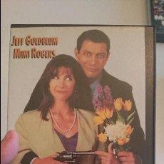 Cine: ¿MATAR A MI MUJER? ERA UNA BROMA (SHOOTING ELIZABETH) 1992 VHS JEFF GOLDBLUM MIMI ROGERS. Lote 58329463