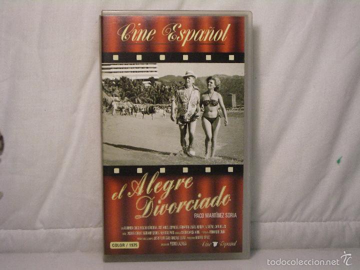 EL ALEGRE DIVORCIADO (1975) *** PACO MARTÍNEZ SORIA *** MANGA HOME *** CINE ESPAÑOL *** (Cine - Películas - VHS)