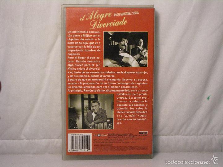 Cine: EL ALEGRE DIVORCIADO (1975) *** Paco Martínez Soria *** MANGA HOME *** CINE ESPAÑOL *** - Foto 2 - 58347549