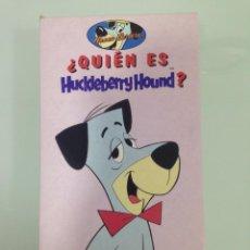 Cine: VHS, 7, ¿ QUIEN ES HUCKLEBERRY HOUND? HANNA-BARBERA. Lote 58418816