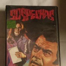 Cine: SOSPECHAS VHS. Lote 58441994