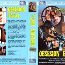 Cine: VHS - OBSESION FATAL - ROBIN GIVENS, DAVID HEWLETT, ROBERT GUILLAUME, DAVID GREENE - THRILLER. Lote 58497167