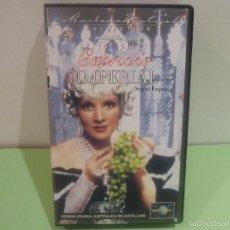 Cine: CAPRICHO IMPERIAL,1934-JOSEF VON STERNBERG-MARLENE DIETRICH, JOHN LODGE VHS. Lote 58586663
