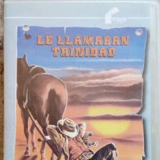 Cine: LE LLAMABAN TRINIDAD - VHS FILMAYER VIDEO - BUD SPENCER - TERENCE HILL. Lote 58976950