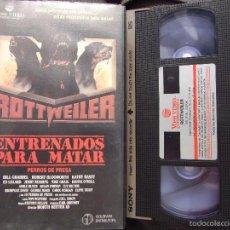 Cine: ROTTWEILER ENTRENADOS PARA MATAR - WORTH KEETER - BILL GRABBEL , ROBERT BLOOWORTH - VOSS 1987. Lote 129100624