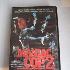 Cine: MANIAC COP 2 • VHS (COLECCIÓN RECORD). Lote 59301615