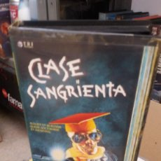 Cine: CLASE SANGRIENTA- VHS- BRAD PITT. Lote 59644411