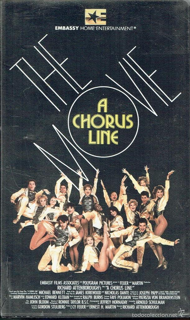 A CHORUS LINE. THE MOVIE (Cine - Películas - VHS)