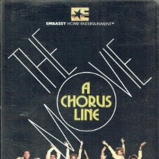 Cine: A CHORUS LINE. THE MOVIE. Lote 59905347