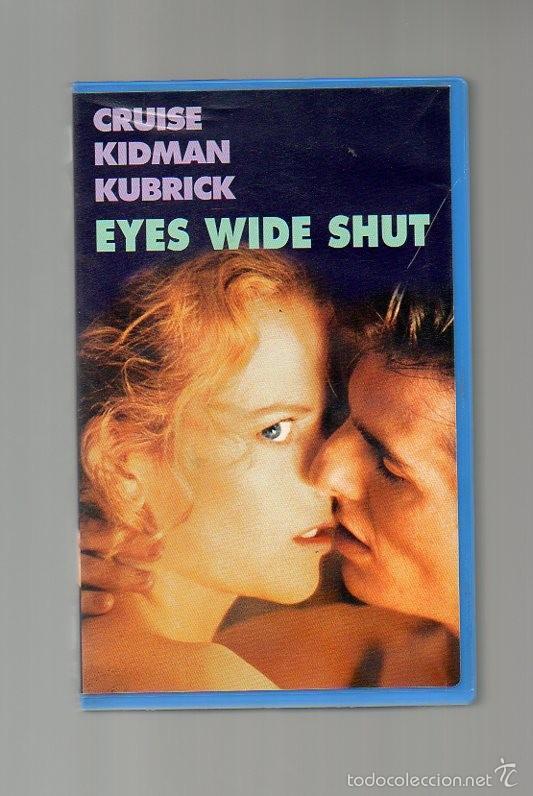 EYES WIDE SHUT. KUBRIK. CRUISE. KIDMAN (Cine - Películas - VHS)