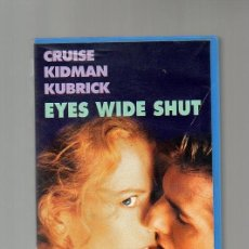 Cine: EYES WIDE SHUT. KUBRIK. CRUISE. KIDMAN. Lote 59931703