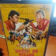 Cine: DUELO DE PILLOS- VHS- FRANK SINATRA. Lote 60196655