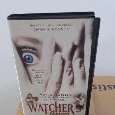 Cine: WATCHER'S REBORN- VHS- (PROYECTO TERROR 4)- . Lote 60454183
