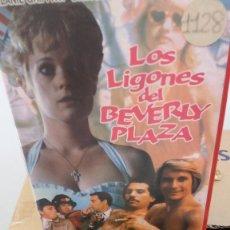 Cine: LOS LIGONES DEL BEVERLY PLAZA- VHS- MELANIE GRIFFITH- DIRK BENEDICT . Lote 60461219