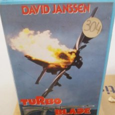 Cine: TURBO BLADE- VHS- DAVID JANSSEN. Lote 60461787