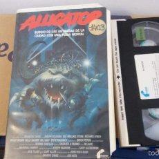 Cine: ALLIGATOR- VHS- JON HESS - JOSEPH BOLOGNA , DEE WALLACE - FILMAYER 1991(2). Lote 60603587