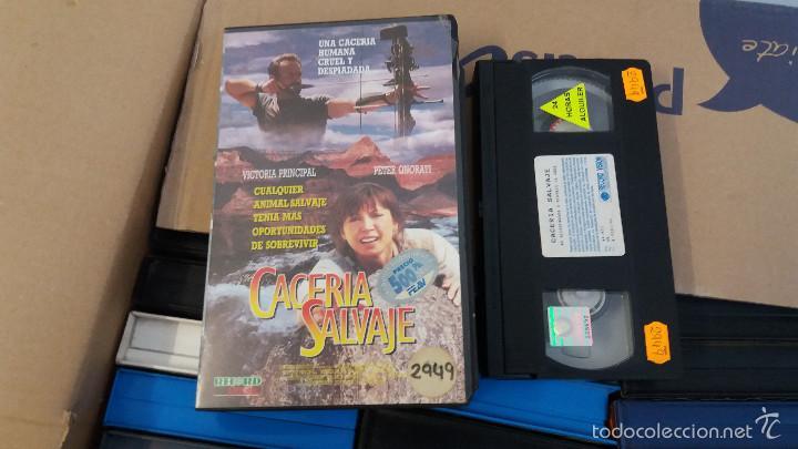 CACERIA SALVAJE- VHS- V- (UNICA) (Cine - Películas - VHS)