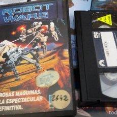 Cine: ROBOT WARS- VHS- FULL MOON ENTERTAINMENT - LISA RINNA - DON MICHAEL PAUL (UNICA ) JOYACA. Lote 60610287