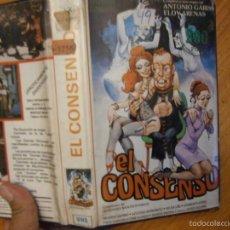 Cine: EL CONSENSO-VHS. Lote 60613255