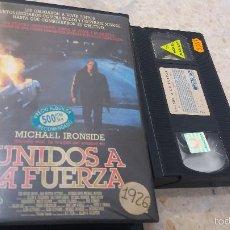 Cine: UNIDOS A LA FUERZA- VHS- MICHAEL IRONSIDE. Lote 60639347