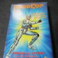 Cine: VHS VIDEO ROBOCOP DIBUJOS ANIMADOS ANIMACION FUNDA GRANDE. Lote 61032279