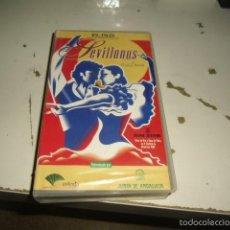 Cine: CAJ-178 VHS SEVILLANAS CARLOS SAURA . Lote 61210783