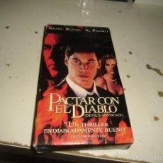 Cine: CAJ-178 VHS PACTAR CON EL DIABLO . Lote 61211067
