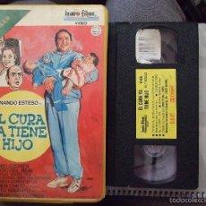 Cine: EL CURA YA TIENE HIJO - MARIANO OZORES - FERNANDO ESTESO , ANTONIO OZORES - IZARO 1985. Lote 179170418