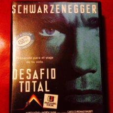 Cine: DESAFÍO TOTAL (1990) VHS DE PAUL VERHOEVEN CON ARNOLD SCHWARZENEGGER 1ª EDICIÓN EN CAJA GRANDE. Lote 61290849