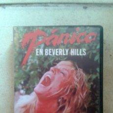Cine: VHS PÁNICO EN BEVERLY HILLS . Lote 61332455